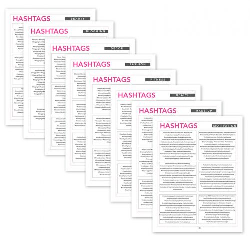 hashtags-collage