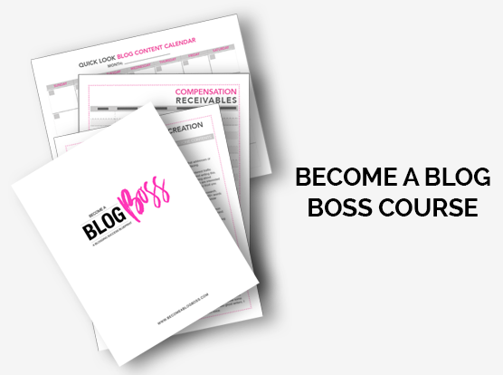 Become a Blog Boss Course