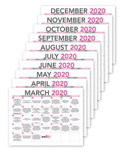 content-calendar-collage